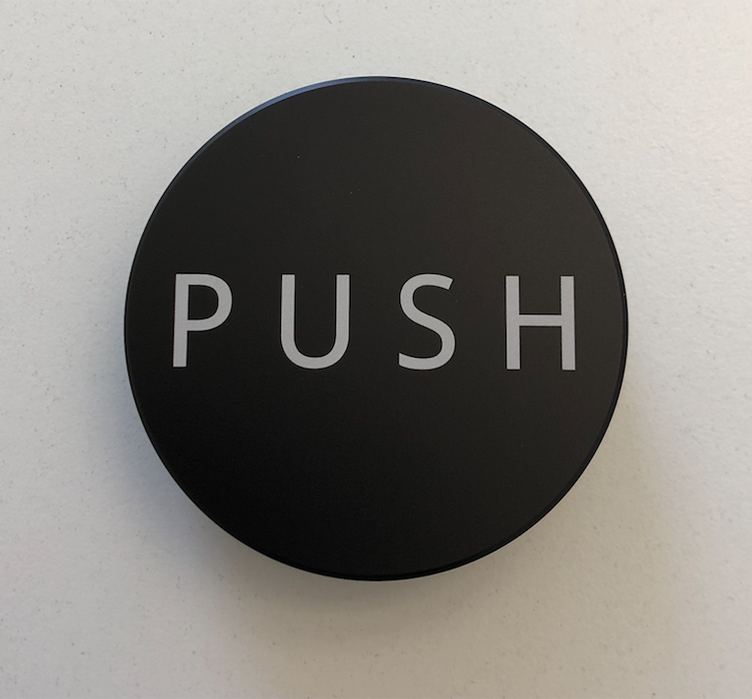 PUSH Tamper - Black - 58.50mm