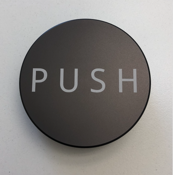 PUSH Tamper - Dark Grey - 58.50mm