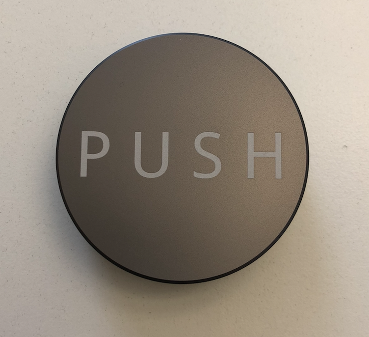 PUSH Tamper - Light Grey - 58.50mm