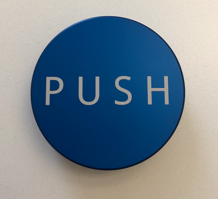 PUSH Tamper - Royal Blue - 58.50mm