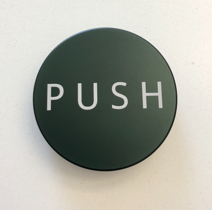 PUSH Tamper - Dark Green - 58.50mm