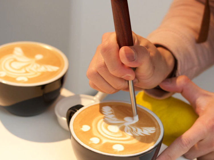LATTE ART (ENGLISH)